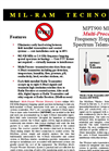 Mil-Ram - MPT900T - Wireless Transmitter Literature