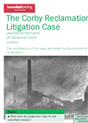 Corby Reclamation Litigation Case: Lessons For The Future - Brochure (PDF 596 KB)