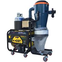 Draygon - Model SC2 TP - Triple Power Industrial Vacuum Single Phase Dust Extractor