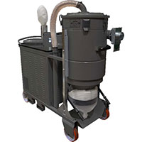 Draygon - Model DG LPG - Continuous Duty Industrial Vacuum Cleaner