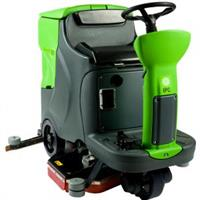 Draygon - Model CT110 ECS Rider - Automatic High Speed Microfiber Scrubber System