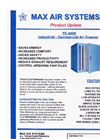 Model TE-2400 - Industrial Air Cleaner Brochure