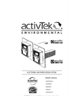ActivTek - Model Induct 750 - Duct Mounted System Manual