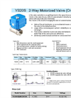 Model YS20S - Electric Ball Valve Brochure