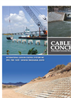 Cable Concrete Block System Brochure