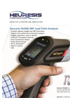 Heuresis Pb200i XRF Lead Paint Analyzer Brochure