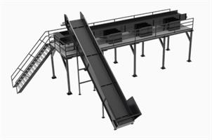 Fluent - Model SS - Sorting Materials Conveyor