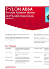 Model AB6A - Portable Radiation Monitor Brochure