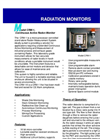 Model CRM-1 Active - Radiation Monitor Brochure