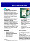 Model CRM-2 - Passive Radiation Monitor Brochure