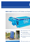 BRT - PERF-O-MAT - Perforator for PET Bottles and Plastic Containers Brochure