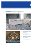 BRT - SEP-O-MAT - Waste Paper Sorting Systems Brochure