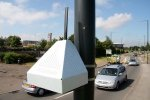 Air quality monitoring for traffic