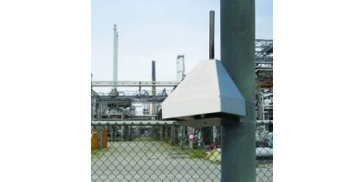 Fence line monitoring around an industrial site or airport