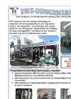 TWT-Concentra - Low Energy Consumption Evaporator-Concentrators Plant Brochure