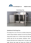 Hot Air Fruits Drying Machine