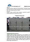 Vegetables Drying Machine