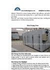 Meat Drying Oven