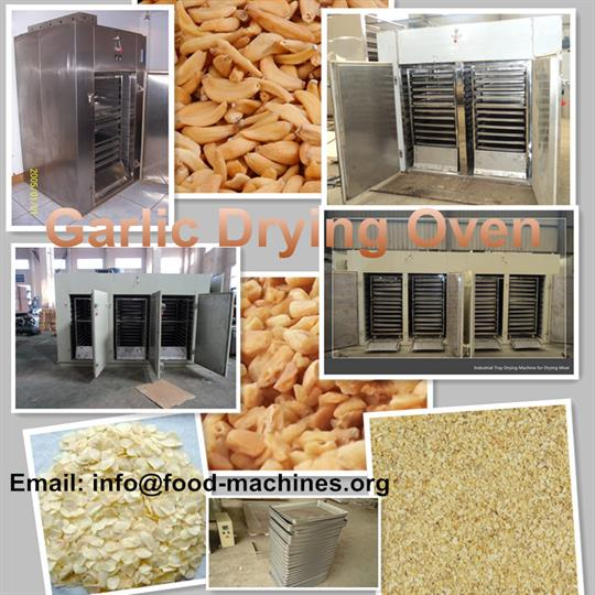 AZEUS - Garlic Drying Oven