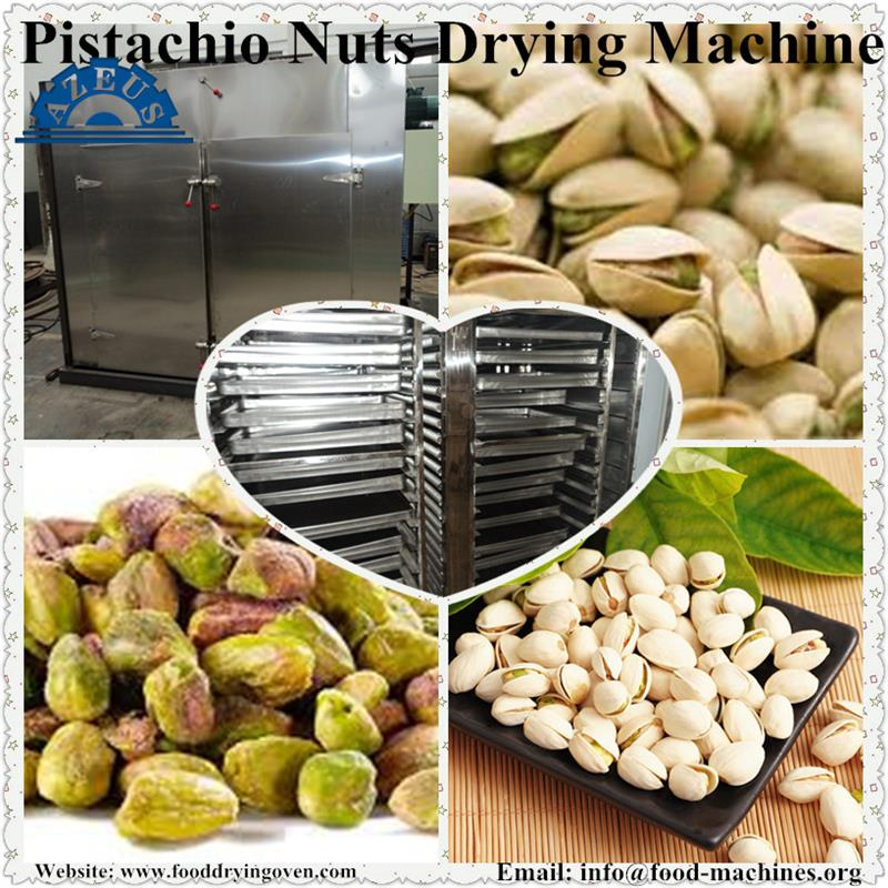 AZEUS - Industrial High Efficiency Pistachio Nuts Drying Machine