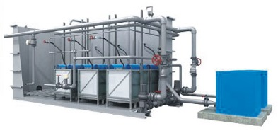Model MBR-A - Wastewater Treatment System
