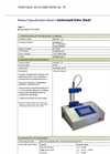 omnilab - Model W - Portables Analyzers Brochure