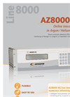 Model THC 8000 - Total Hydrocarbon Analyser Brochure