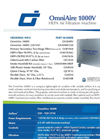OmniAire - Model 1000V - HEPA Air Filtration Machine - Datasheet