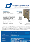 OmniAire MiniForce - Model II - HEPA Air Filtration Machine Datasheet
