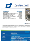 OmniAire - Model 1300V - HEPA Air Filtration Machine - Datasheet