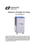 OmniAire - Model 1200PAC - HEPA Filtered Portable Air Cleaner - Datasheet