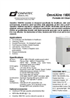 OmniAire - Model 1600PAC - HEPA Portable Air Cleaner - Datasheet