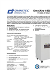 OmniAire 1600PAC Portable Air Cleaner Specification Sheet