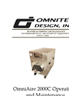 OmniAire - Model 2000C - HEPA Air Filtration Machine - Operations and Maintenance Manual