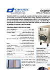 OmniAire - Model OA2000V - HEPA Air Filtration Machine - Datasheet