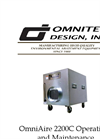 OmniAire - Model 2200C - Air Machine - Operations and Maintenance Manual