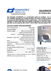 OmniAire - Model OA2200CBF - Air Filtration Machine - Brochure