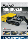 Track-O MINIDOZER AL-27 Electric and Remote Controlled Vehicle - Brochure