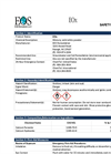 EOx - Material Safety Datasheet