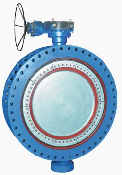 Aira - Model AWWA - Double-Offset Flanged Butterfly Valve
