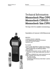 Memocheck - Model Sim CYP03D - Digital Service and Qualification Tool Technical Datasheet