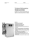 TOCII - Model CA72TOC - High Temperature Total Organic Carbon (TOC) Analyzer - Technical Datasheet