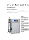 TOCII - Model CA72TOC - High Temperature Total Organic Carbon (TOC) Analyzer Technical Datasheet