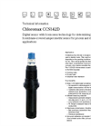 Chloromax - Model CCS142D - Digital Disinfection Sensor - Technical Datasheet