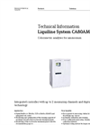 Liquiline System CA80AM Colorimetric Analyzer for Ammonium - Technical Information