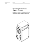 TOCII - Model CA72TOC - High Temperature Total Organic Carbon (TOC) Analyzer - Operating Instructions Manual