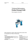 Proline Promag - Model D 400 - Electromagnetic Flowmeter - Technical Datasheet