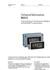 RIA15 Loop-Powered 4 to 20 mA Process Indicator with Optional HART® Communication - Technical Information