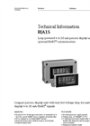 HART - Model RIA15 - Loop-Powered Indicator for 4…20 mA - Technical Datasheet