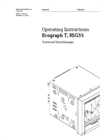 Ecograph - Model T, RSG35 - Universal Data Manager - Operating Instructions Manual